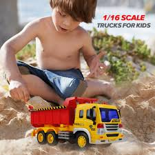 100 Kidds Trucks Dump Construction Fancy Toys Kids Builder Vehicle Car 35