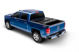 UnderCover FX11018 Tonneau Cover Flex Tri-Fold; Non-Lockable; Black ...
