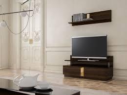 casa padrino luxus wohnzimmer tv schrank set braun gold 1 tv schrank 1 wandregal edles wohnzimmer möbel set luxus qualität
