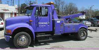 100 New Tow Trucks 1996 International 4700 Tow Truck Item K5010 SOLD May 2