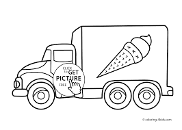 Coloring Pages Trucks Fresh Coloring Pages For Kids Trucks To Print ...