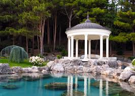Harmonious Pool Pavilion Plans by 35 Gazebo Designs Picture Gallery Designing Idea