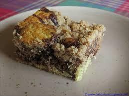 knuspriger birnen schokoladen kuchen cahama