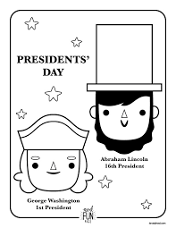 Free Printable Coloring Page For Presidents Day Via Honesttonod