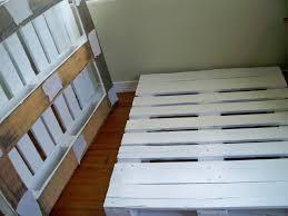 simple pallet twin bed frame i built pinterest pallet