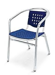 Florida Seating Commercial Aluminum Outdoor Restaurant Chair