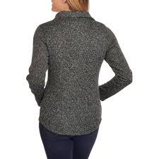 faded glory women u0027s sweater fleece jacket walmart com