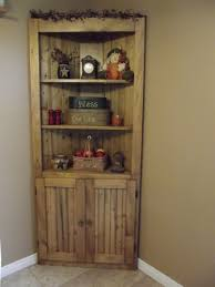 Corner Dining Room Hutch Ehrfurchtig Rustic Cabinet Reclaimed Barn Wood W Tin 6202