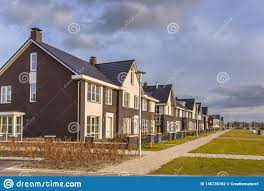 100 Modern Design Of Houses Design Row Houses Stock Photo Image Of Architecture