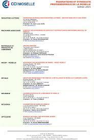 chambre des notaires nancy federations et syndicats professionnels de la moselle pdf