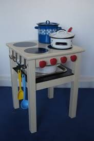 Turn A Simple Side Table Into Childrens Stove With Oven