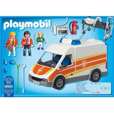 Ambulance Playmobil 6685 Notice Escapadeslegendesfr