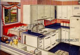 1950 Kitchen Design Retro Decor 1950s Kitchens Ideas Concept