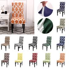Details About HL Kitchen Dining Room Chair Covers Removable Stretch  Protective Cover Slipcover Plastic Ding Chair Covers Amazing Room Seat Hanover Traditions 5piece Alinum Round Outdoor Set With Protective Cover And Natural Oat Cushions Amazoncom Yisun Modern Stretch 10 Best Of 2019 For Elegance Aw2k Spandex Polyester Slipcover Case Anti Dirty Elastic Home Decoration Cheap New Decorative Coversbuy 6 Free Shipping Protectors Ilikedesignstudiocom Chairs 4pcs 38 Fresh Stocks Leather Concept In Fabric Slip Covers For Hotel Banquet Ceremony Hongbo 1pcs Minimalist Plant Leaves