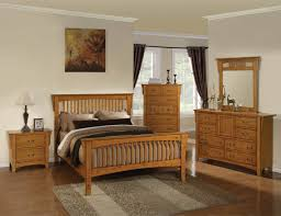 New Pine Finish Classic 5Pc Bedroom Set w Options