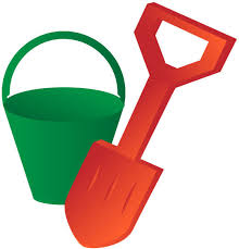 Bucket And Spade Free Vector In Adobe Illustrator Ai