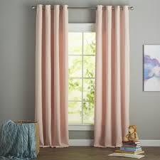 pink curtains drapes joss main