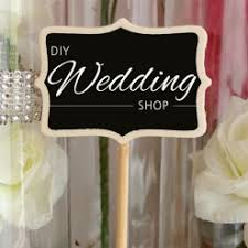 DIY Wedding Shop