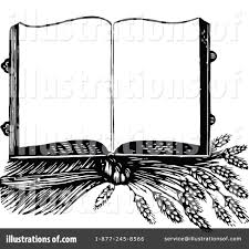 Open Book Clipart Vintage