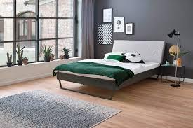 meise möbel metallbett boston polsterkopfteil mit rautenstanzung diverse fußvarianten möglich