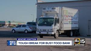 Apache Junction Food Bank Desperate For Donations After Refrigerated ... Apache Junction Food Bank Desperate For Dations After Refrigerated Suspect Crashes Stolen Truck Into Home Intertional Trucks In Az For Sale Used Chamber Of Commerce Pickup Only Delightful Work Truck News Dodge Ecodiesel Classic American 1961 Mack B61 Editorial Image The Witches Inn Custom Rig Wins Big At Mats 2018 Trucks Only Cars Dealer Elegant Features 1948 1960 Fargo Desoto 2003 Gmc Topkick C4500 Arizona Carrying Budweiser Clyddales Stock Public Surplus Auction 2120314