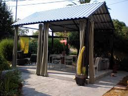 Easy Diy Patio Cover Ideas by Backyard Metal Covered Patio Ideas Backyard Fence Ideas