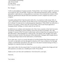 The Best Cover Letter Examples Papedelcacom