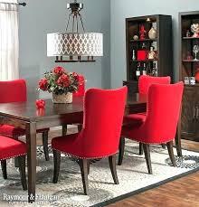 Fantastic Red Dining Table Set Room Furniture