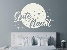 wandtattoo gute nacht im mondschein wandtattoos de