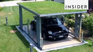 100 Car Elevator Garage Hidden