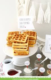 The Lawn Fawn Blog: Elena's Brilliant Waffle Bar Party! How To Throw A Waffle Party Wholefully Protein Bar Bar Waffles And Waffles A Very Merry Holiday Citrus Punch Recipe Make Waffle Sweetphi Cake Mix Plus Planning Tips Mom Loves Baking The Best Toppings From Savory Sweet Taste Of Home Eggo Truckinspired Pbj Styleanthropy 6 The Best Toppings Recipe Food To Love Bridal Shower With Chinet Cut Crystal Giveaway Hvala Matcha Softserveice Blended Latte Frappe At Southern Gentleman Baby