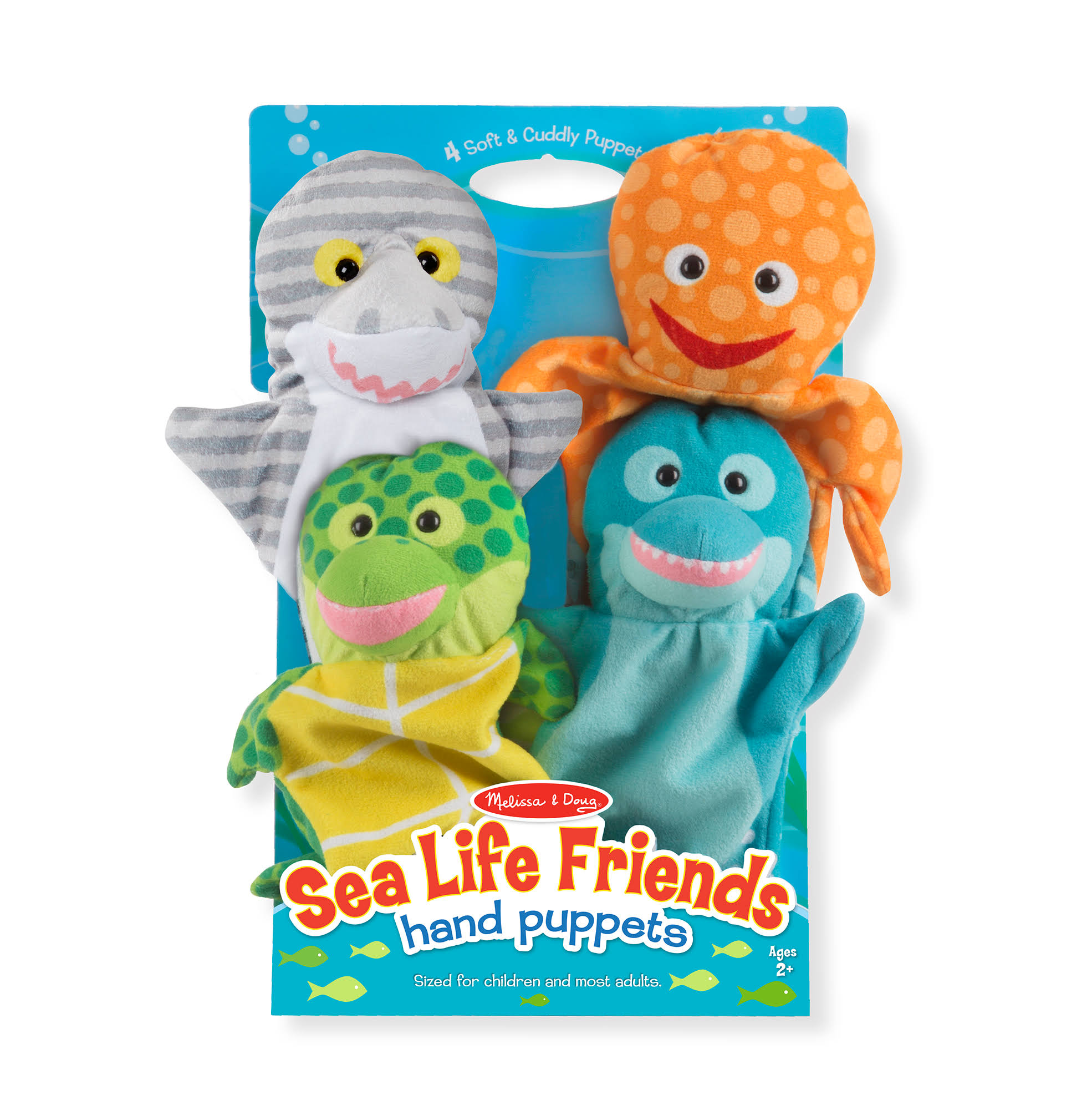 Melissa & Doug - Sea Life Friends Hand Puppets