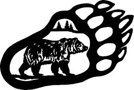 Black Bear Clipart Vector