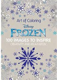 Frozen Art Of Coloring Book