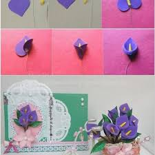 89 Best Paper Flowers Images On Pinterest