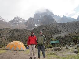 According To The Rangers At Gate Fewer Than 100 People Attempt Highest Peak Of Mt Kenya Every Year And Most Them Are Guided Use Porters