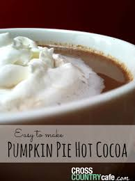 Pumpkin Spice Keurig by How To Make Pumpkin Pie Cocoa With Your Keurig