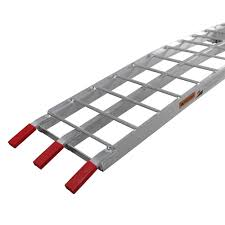 100 Aluminum Loading Ramps For Pickup Trucks Single 90 Dirt Motorcycle Bike Ramp Folding Truck