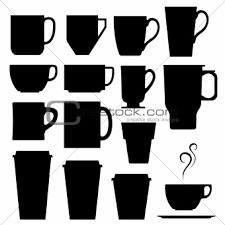 Images Paper Coffee Cup Silhouette
