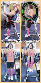 Abs Roman Chair Knee Raises by 28 March 2014 The Fitness Rebellion