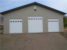 10 ft wide garage door large 3 stall rv garage rv garage buildings pertaining to