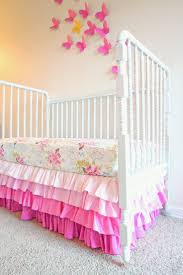 Bed Skirt Pins by Best 25 Crib Bed Skirt Ideas On Pinterest Crib Skirt Tutorial