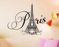 Paris Themed Living Room Decor by Paris Bedroom Decor Etsy
