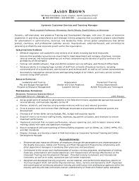 Customer Service Supervisor Resume Samples Sample Valuable Idea It Manager Care