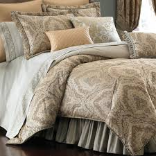 Eastern Accents Bedding Discontinued by Distinction Damask Comforter Bedding By Croscill Damasks