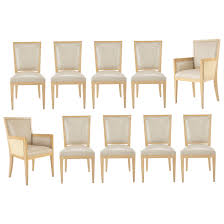 Set 10 Of Contemporary Leather Clad Cerused Oak Dining Chairs For ... Ding Chair Slipcover Sewing Pattern Chairs Home Room Sets Sure Fit Soft Suede Shorty Taupe Velvet Cover Jf Covers Homiest 1 Pc Spandex Stretch Linen Store Basket Weave Texture Form Portland Full Length 4 Pack Shop Luxury Collection Metro Free Shipping On Decor Best For Parson Create Awesome Pearson Pin By Neby On Modern Interior Ideas Room Chair Long Chateau Toile Cottonpolyester Amazoncom Classic Slipcovers Cabana Stripe Short