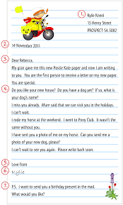 Australia Post Our post – Lower primary writing a letter