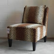Burke Slipper Chair With Buttons by Englishmans
