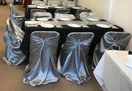 Silver Universal Satin Chair Covers   Tablecloths Factory ... 100 Silver Satin Chair Cover Sash Bows For Wedding Party Rosette Stretch Banquet Spandex Amazoncom Vlovelife Sashes Tie Ribbon Purple Wedding Linens New Party Black Covers Ircossatinwhiteivorychampagnesilverblack250 Lets Linentablecloth Ivory Off White Draped Chameleon Social Shopfront Of Lansing Table Decorations Vevor Pcs Bow Decoration Rose Gold Blush Universal Efavormart Rental Back Louise Vina Event Sage Green Right Choice Linen