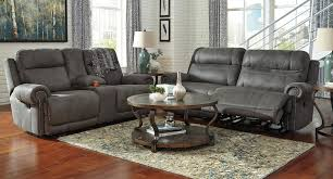 Claremore Antique Sofa And Loveseat by Austere Gray Power Reclining Living Room Set Living Room Sets